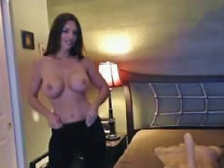 Sexy Brunette With Big Boobs